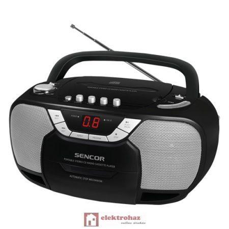 SENCOR SPT207 hordozható rádiómagnó CD-lejátszóval