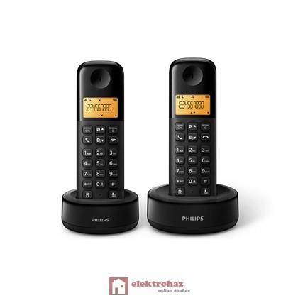 PHILIPS D1302B/53 Vezeték nélküli telefon